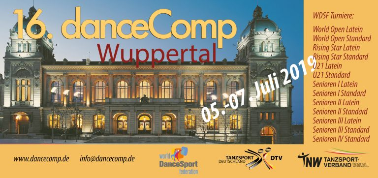 danceComp 2019 in Wuppertal